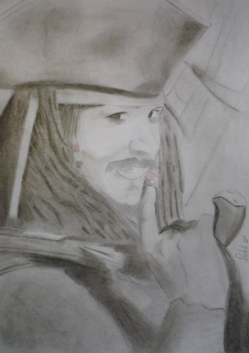 Johnny Depp by Fletch
